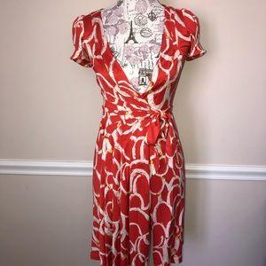 Diane Von Furstenburg DVF Antonio wrap dress 0